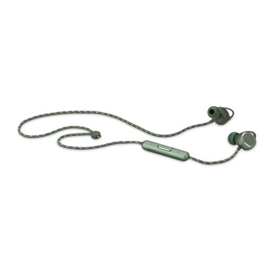 AKG N200WIRELESS - Green - Reference wireless in-ear headphones - Detailshot 2