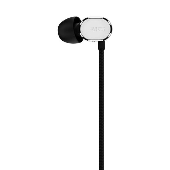 N20U - Silver - Reference class in-ear headphones with universal 3 button remote. - Detailshot 3