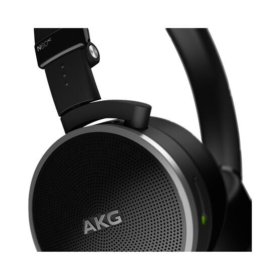 N60 NC - Black - First class noise-cancelling headphones fine-tuned for travelling - Detailshot 2
