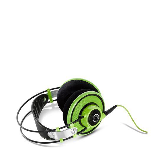 Q701 - Green - Quincy Jones Signature line, Reference-Class Premium Headphones - Detailshot 2