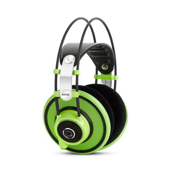 Q701 - Green - Quincy Jones Signature line, Reference-Class Premium Headphones - Hero