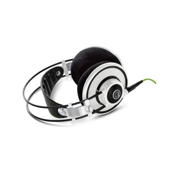 Q701 - White - Quincy Jones Signature line, Reference-Class Premium Headphones - Detailshot 1