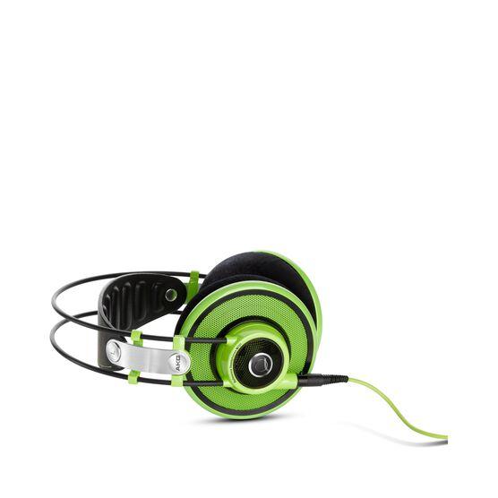 Q701 - Green - Quincy Jones Signature line, Reference-Class Premium Headphones - Detailshot 1