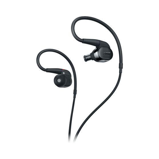 AKG N30 - Black - Hi-Res in-ear headphones with customizable sound - Detailshot 1