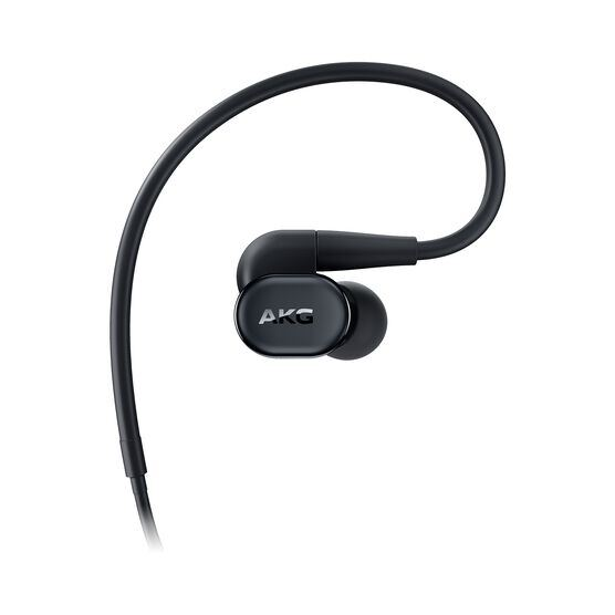 AKG N30 - Black - Hi-Res in-ear headphones with customizable sound - Right