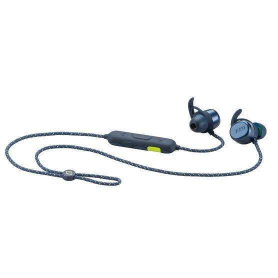AKG N200A Wireless - Blue - Wireless Sport Headphones - Hero