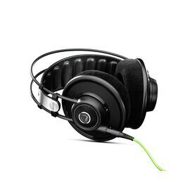 Q701 - Black - Quincy Jones Signature line, Reference-Class Premium Headphones - Hero