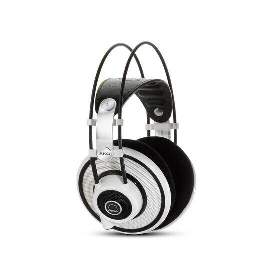 Q701 - White - Quincy Jones Signature line, Reference-Class Premium Headphones - Hero