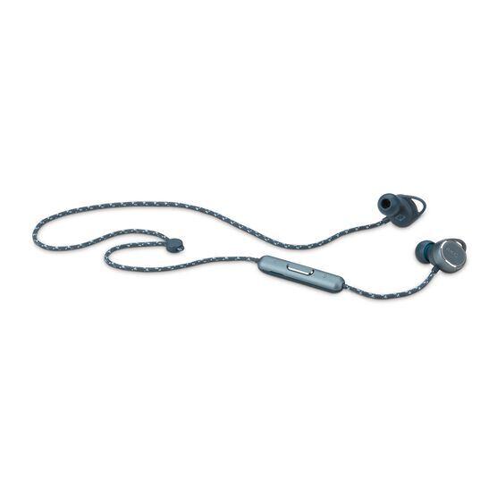 AKG N200WIRELESS - Blue - Reference wireless in-ear headphones - Detailshot 2