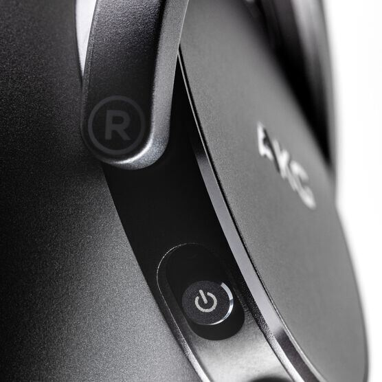 AKG N700NCM2 WIRELESS - Black - Wireless, Adaptive Noise Cancelling Headphones - Detailshot 2