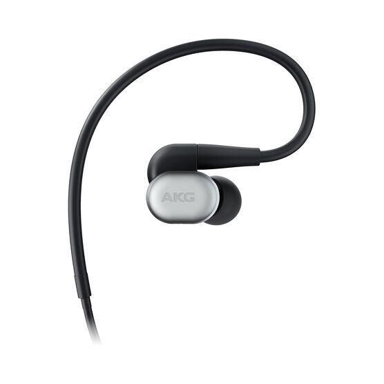 AKG N30 - Silver - Hi-Res in-ear headphones with customizable sound - Hero