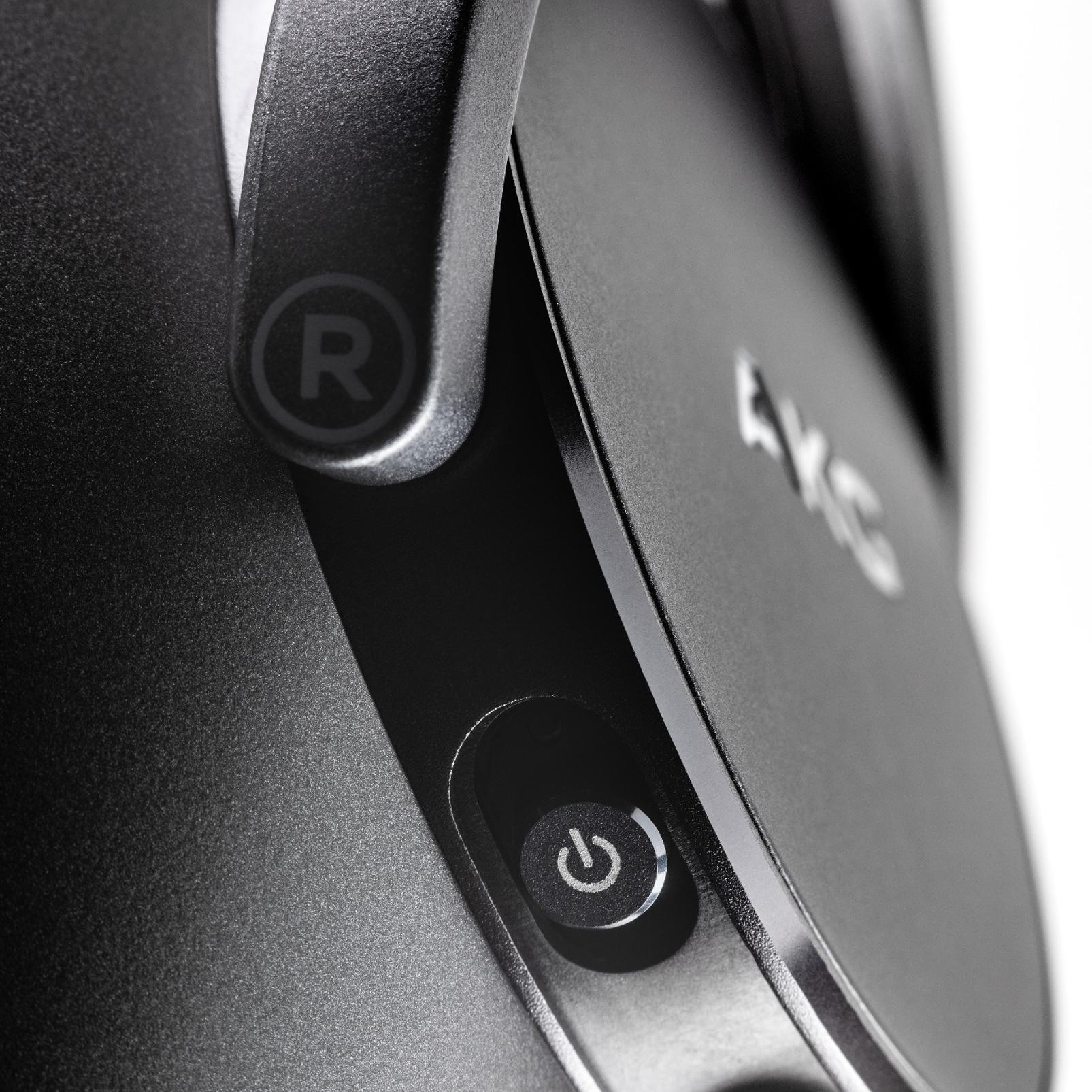 AKG N700NCM2 WIRELESS - Black - Wireless, Adaptive Noise Cancelling Headphones - Detailshot 2