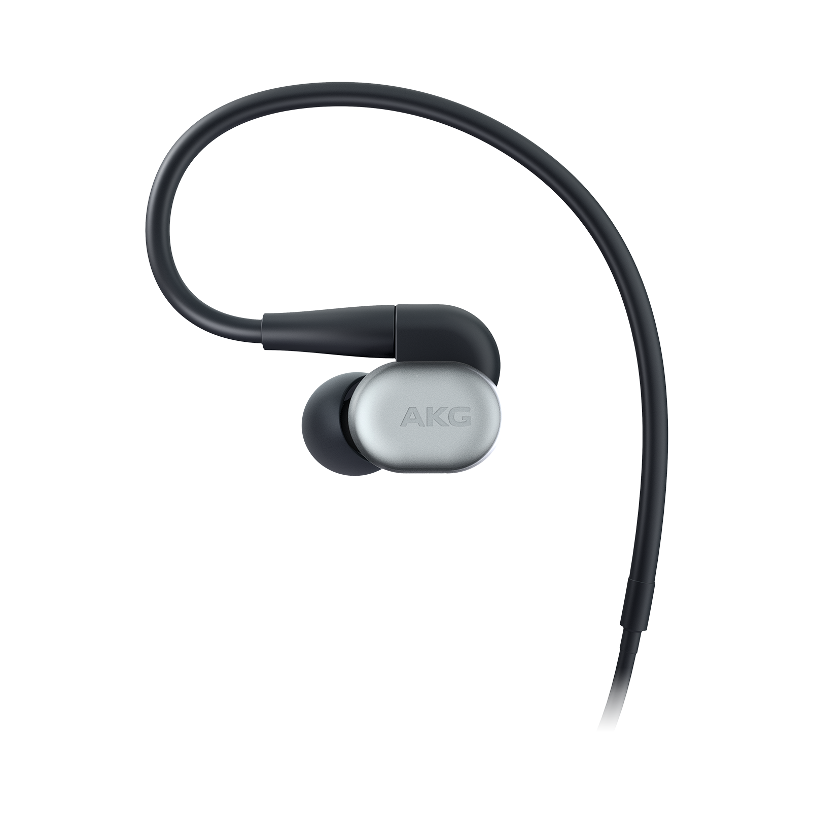 AKG N30 - Silver - Hi-Res in-ear headphones with customizable sound - Detailshot 1