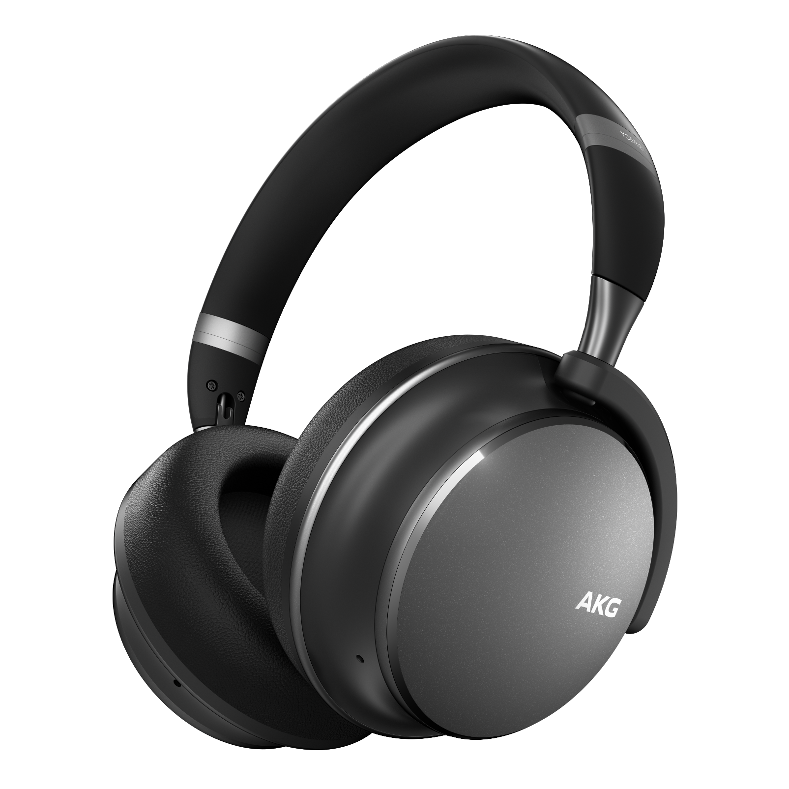 AKG Y600NC WIRELESS - Gun Metal - Wireless over-ear NC headphones - Hero