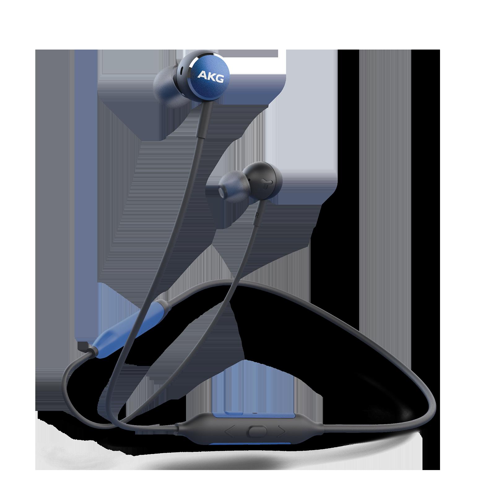 AKG Y100 Wireless - Blue - Wireless in-ear headphones - Hero