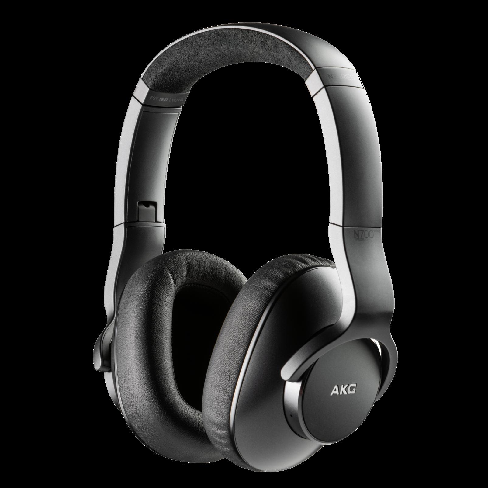 AKG N700NCM2 WIRELESS - Black - Wireless, Adaptive Noise Cancelling Headphones - Hero