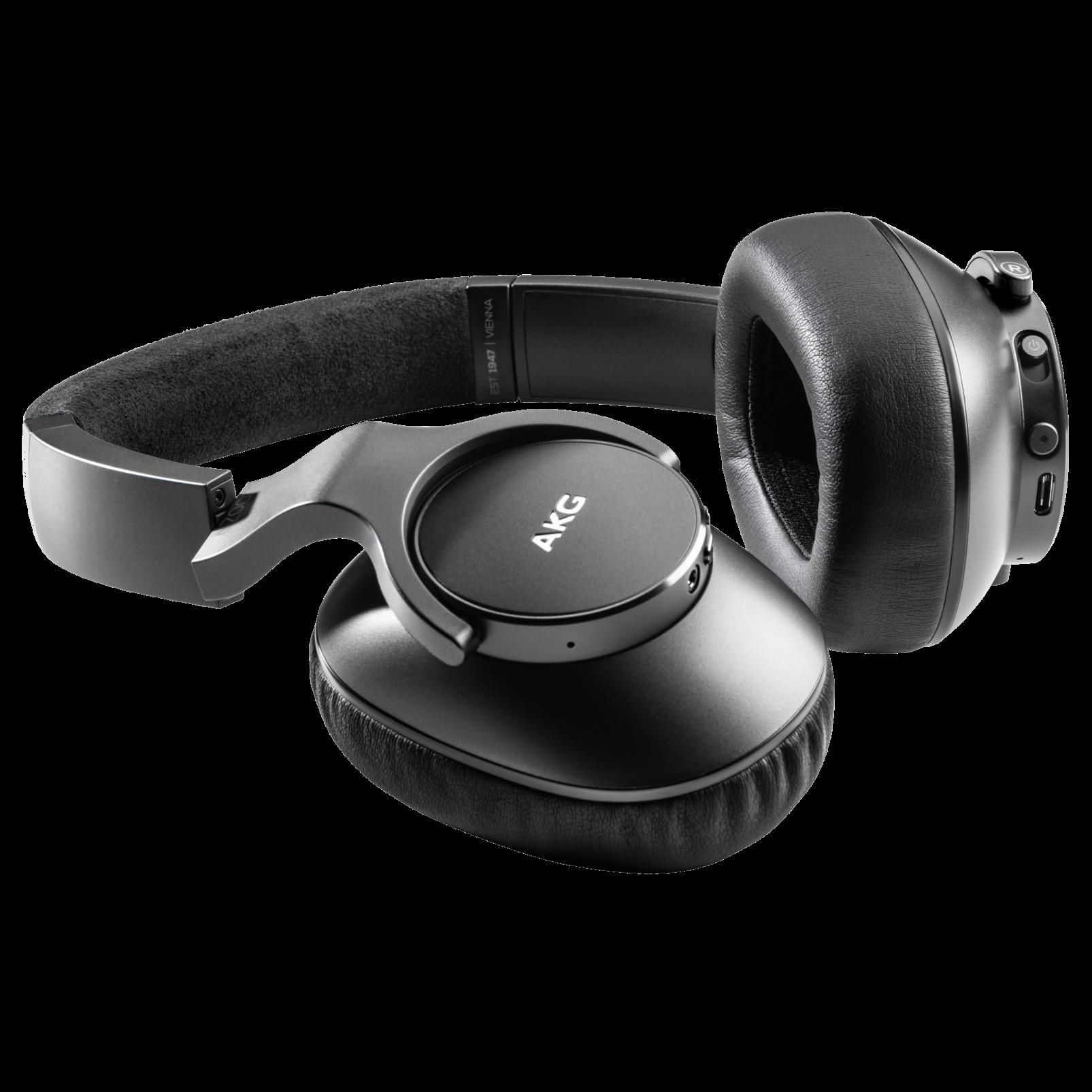 AKG N700NCM2 WIRELESS - Black - Wireless, Adaptive Noise Cancelling Headphones - Detailshot 1