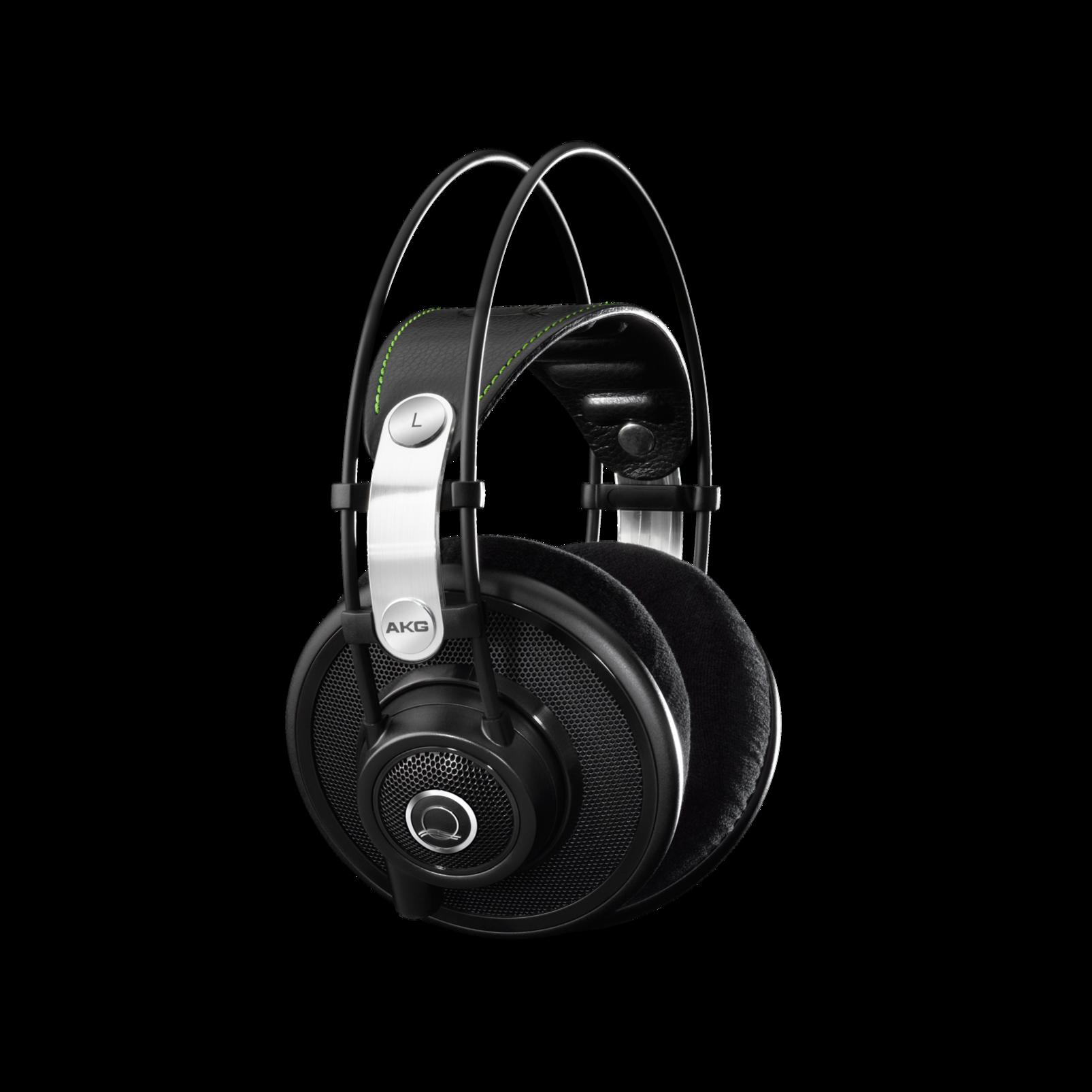 Q701 - Black - Quincy Jones Signature line, Reference-Class Premium Headphones - Detailshot 1